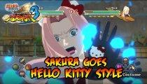 Naruto Shippuden: Ultimate Ninja Storm 3 - Trailer per il costume di Sakura da Hello Kitty