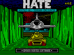 H.A.T.E. per Sinclair ZX Spectrum