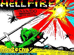 Hellfire per Sinclair ZX Spectrum