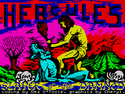 Hercules: Slayer of the Damned per Sinclair ZX Spectrum