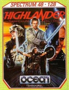 Highlander per Sinclair ZX Spectrum