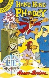 Hong Kong Phooey: No.1 Super Guy per Sinclair ZX Spectrum