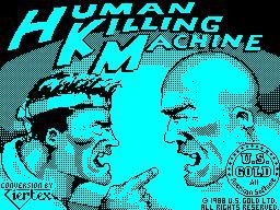 Human Killing Machine per Sinclair ZX Spectrum