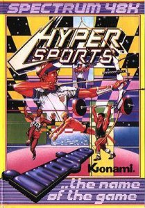 Hyper Sports per Sinclair ZX Spectrum