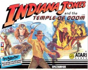 Indiana Jones and the Temple of Doom per Sinclair ZX Spectrum