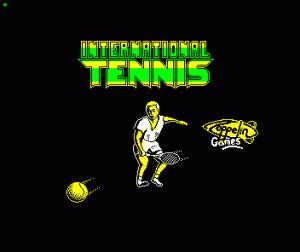 International Tennis per Sinclair ZX Spectrum