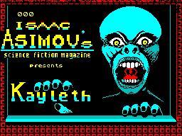 Kayleth per Sinclair ZX Spectrum