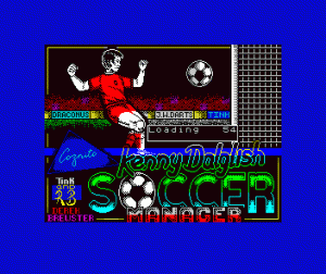 Kenny Dalglish Soccer Manager per Sinclair ZX Spectrum