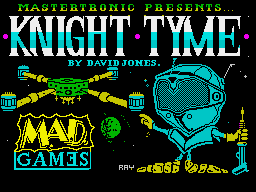 Knight Tyme per Sinclair ZX Spectrum