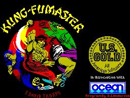 Kung Fu Master per Sinclair ZX Spectrum