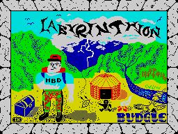 Labyrinthion per Sinclair ZX Spectrum