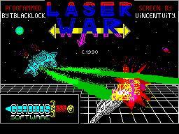 Laser War per Sinclair ZX Spectrum
