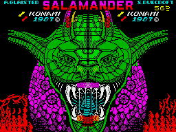 Life Force per Sinclair ZX Spectrum