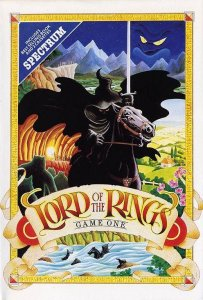 Lord of the Rings per Sinclair ZX Spectrum