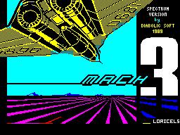Mach 3 per Sinclair ZX Spectrum