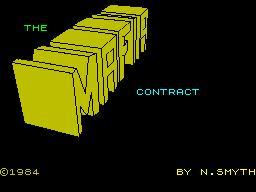 Mafia Contract per Sinclair ZX Spectrum