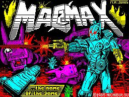 Mag Max per Sinclair ZX Spectrum