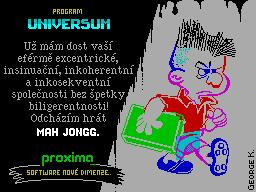 Mah Jongg Solitaire per Sinclair ZX Spectrum