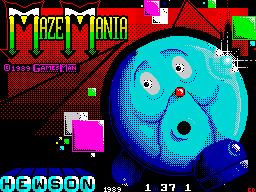 Maze Mania per Sinclair ZX Spectrum