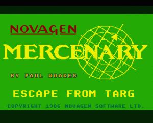 Mercenary: Escape From Targ - The Second City per Sinclair ZX Spectrum