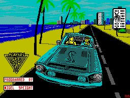 Miami Cobra GT per Sinclair ZX Spectrum