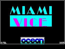 Miami Vice per Sinclair ZX Spectrum