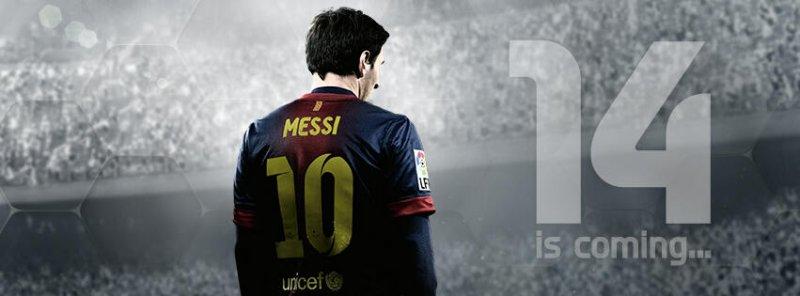 FIFA 14: Un'immagine teaser in attesa della rivelazione odierna