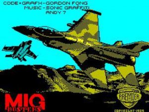 MiG Busters per Sinclair ZX Spectrum