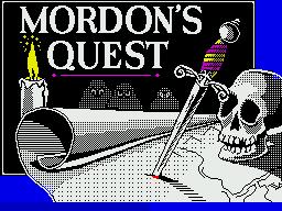 Mordon's Quest per Sinclair ZX Spectrum