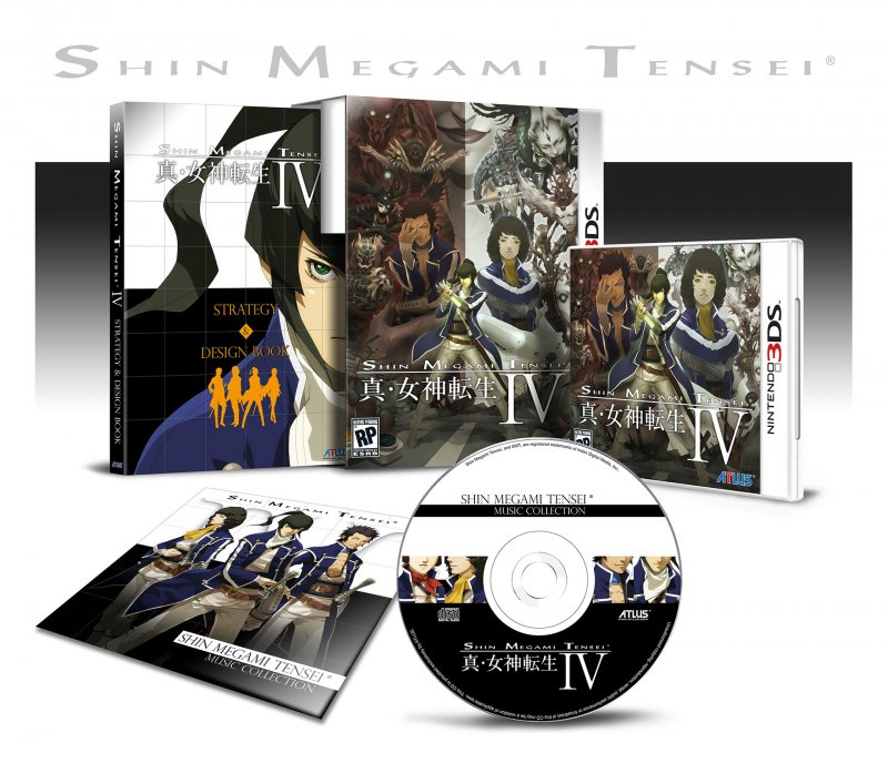 Shin Megami Tensei IV ha una data USA, confermata l'uscita europea