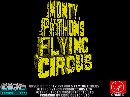 Monty Python's Flying Circus per Sinclair ZX Spectrum