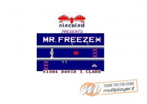 Mr. Freeze per Sinclair ZX Spectrum