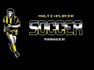 Multi-Player Soccer Manager per Sinclair ZX Spectrum