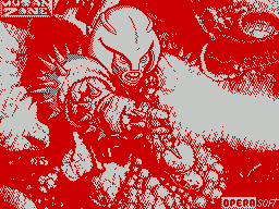 Mutan Zone per Sinclair ZX Spectrum