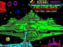 Nemesis per Sinclair ZX Spectrum