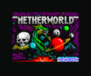Netherworld per Sinclair ZX Spectrum