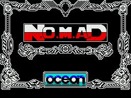 N.O.M.A.D. per Sinclair ZX Spectrum