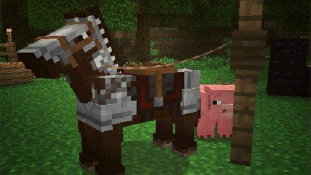 Minecraft - Il nuovo update include i cavalli