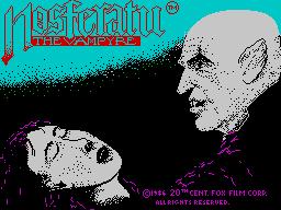 Nosferatu the Vampyre per Sinclair ZX Spectrum