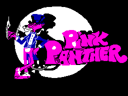 Pink Panther per Sinclair ZX Spectrum