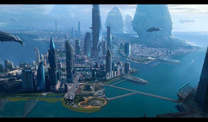 Star Citizen - L'evoluzione dell'ambientazione Terra
