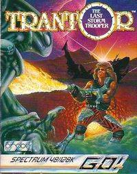 Trantor the Last Storm Trooper per Sinclair ZX Spectrum
