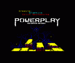 Powerplay: The Game of the Gods per Sinclair ZX Spectrum