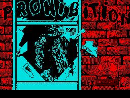 Prohibition per Sinclair ZX Spectrum