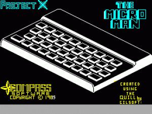 Project X: The Micro Man per Sinclair ZX Spectrum