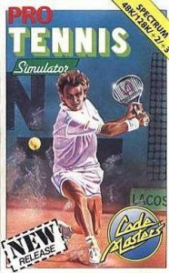 Pro Tennis Simulator per Sinclair ZX Spectrum