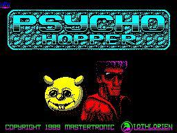Psycho Hopper per Sinclair ZX Spectrum