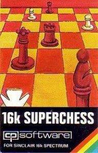 16K Superchess per Sinclair ZX Spectrum