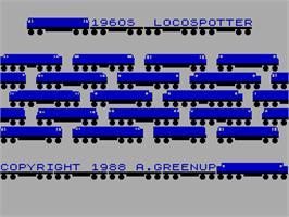 1960's Locospotter per Sinclair ZX Spectrum