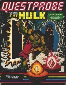 Questprobe 1: The Incredible Hulk per Sinclair ZX Spectrum